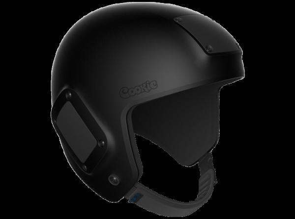 Black Fuel skydiving helmet