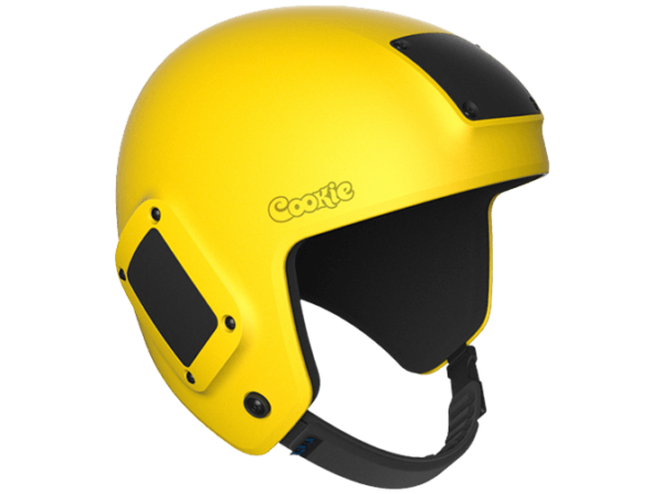 Yellow Fuel Helmet skydiving