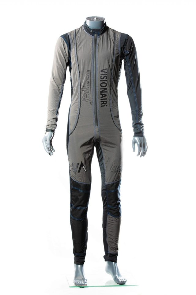 Free fly suit grey
