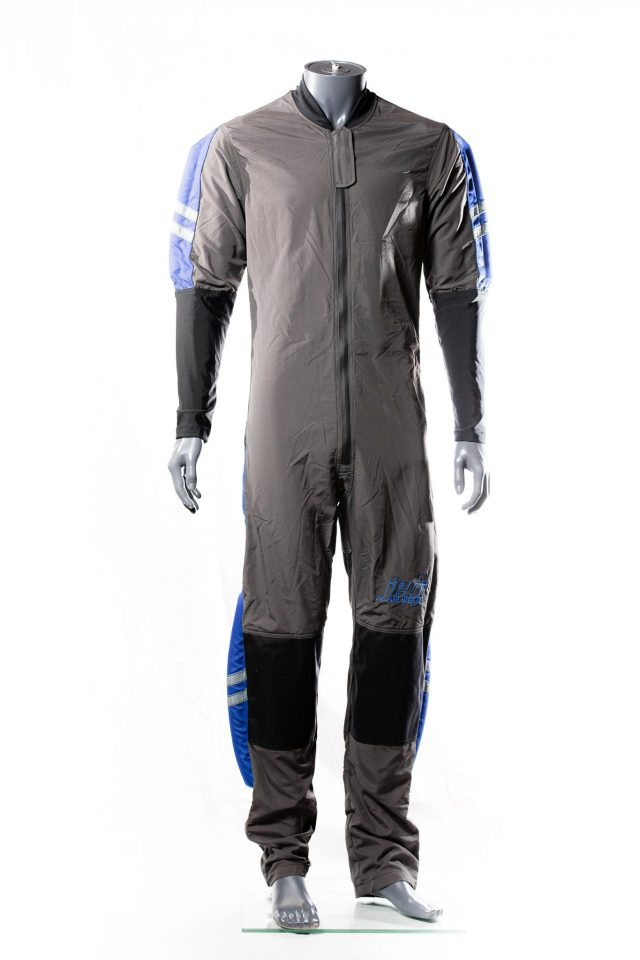 Student skydiving suit