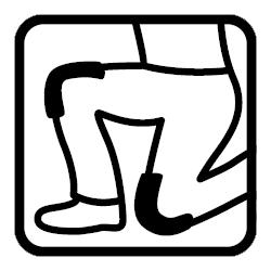 padded knees