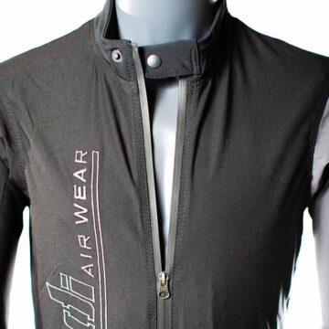 Stretch suit collar