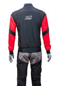 2 piece skydiving suit back
