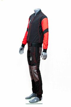 2 piece skydiving suit side view